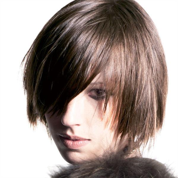 Coiffure cheveux mi-longs - INTERCOIFFURE - tendances printemps-été 2014