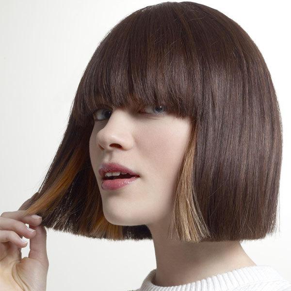Coiffure cheveux mi-longs - TCHIP - tendances printemps-été 2014