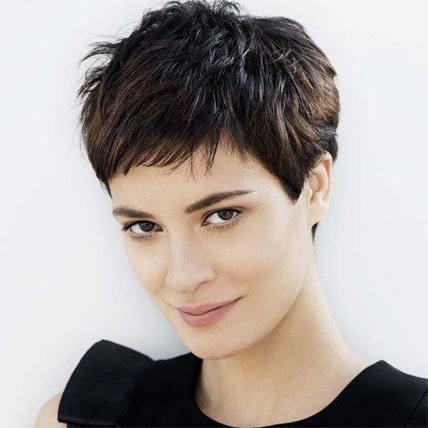 Coiffure cheveux courts - FRANCK PROVOST - tendances printemps-été 2014