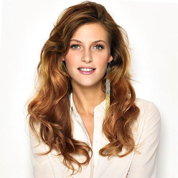 Coiffure cheveux longs - SAINT ALGUE - tendances printemps-été 2014