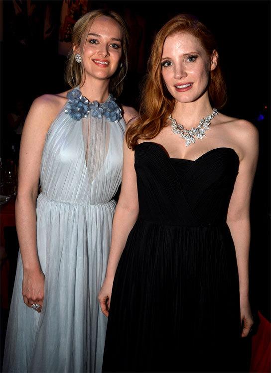 Jessica CHASTAIN et Jess WEIXL au Festival de Cannes 2014
