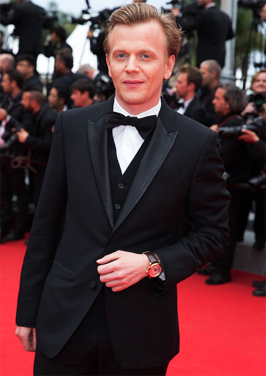 Alexis LUTZ sur le tapis rouge du 67ème Festival de Cannes