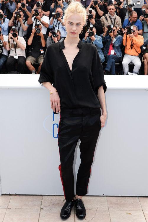 Aymeline VALADE au photocall du Festival de Cannes 2014