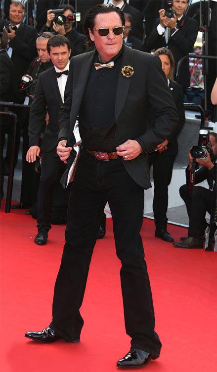 Mickael MADSEN au Festival de Cannes 2014