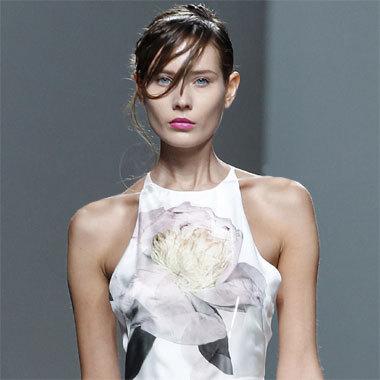 Mode fleurie été 2014 - Création Juan Vidal