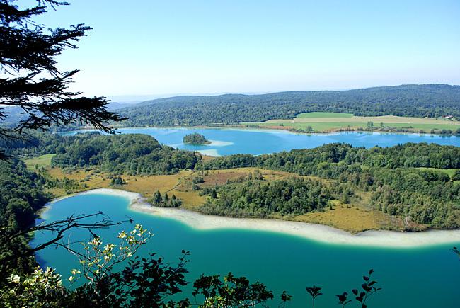 Belvédère des Quatre Lacs, Chaux du Dombief © CRT Franche Comté