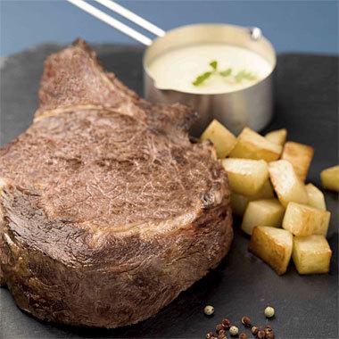 le bœuf Charal cuisiné par Marc Boissieux, gagnant de Masterchef