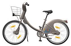 Velib', le vélo en roue libre à Paris
