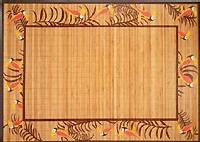 tapis en bambou, Conforama