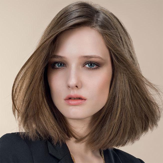 Coiffure cheveux mi-longs - INTERMEDE - tendances automne-hiver 2014-2015