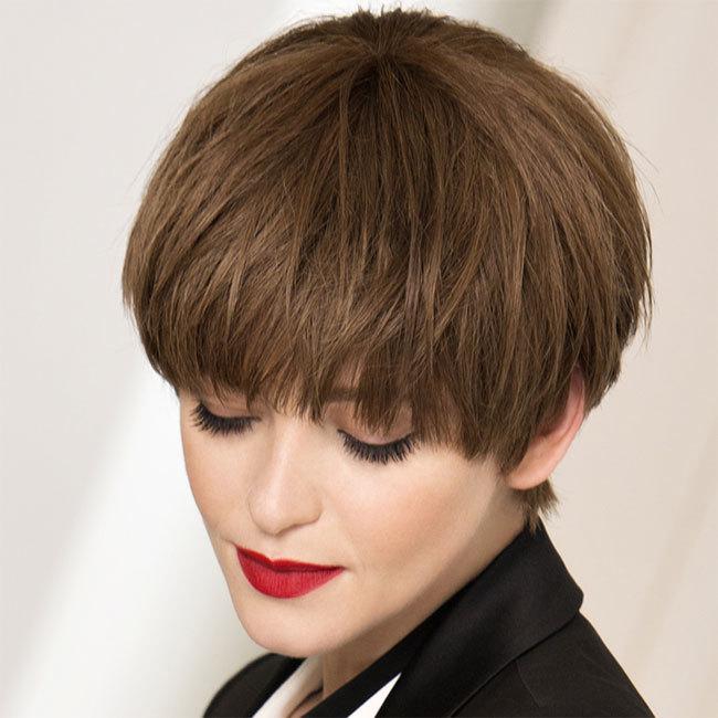 Coiffure cheveux courts - SAINT ALGUE - tendances automne-hiver 2014-2015
