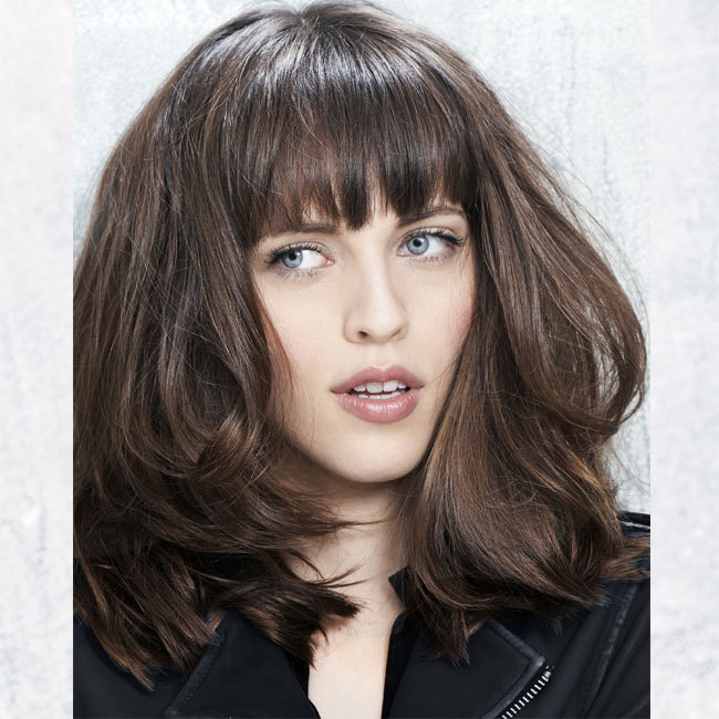 Coiffure cheveux longs - FABIO SALSA - tendances automne-hiver 2014-2015