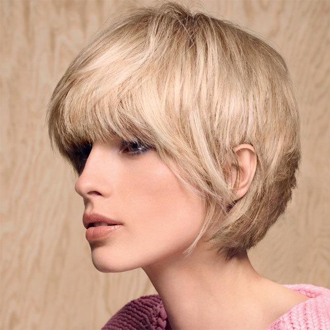 Coiffure cheveux courts - CAMILLE ALBANE - tendances automne-hiver 2014-2015
