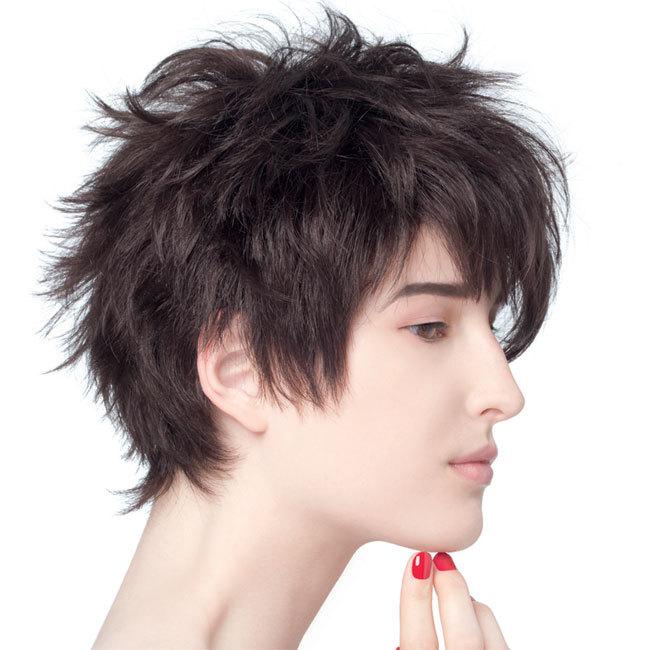 Coiffure cheveux courts - BIGUINE - tendances automne-hiver 2014-2015