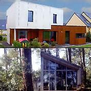 architectes : Mickaël Tanguy (en haut) et l'Atelier Provisoire (en bas)