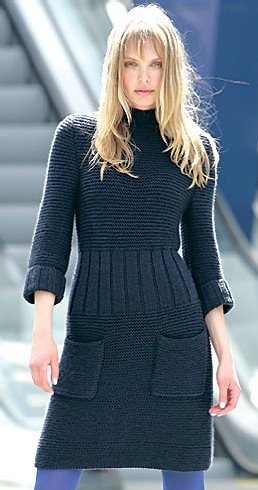 modele robe tricot gratuit femme