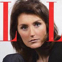 Cécilia Sarkosy en couverture du Elle du 22 octobre 2007.