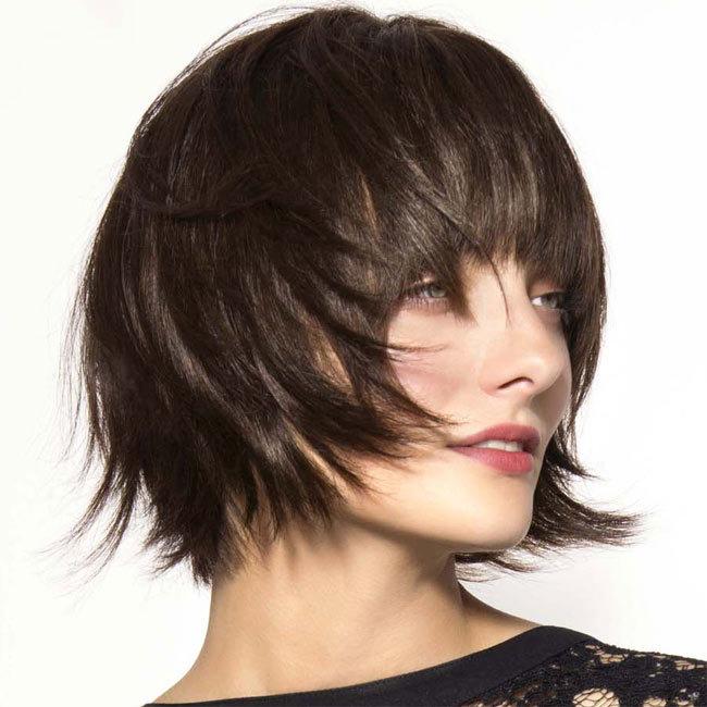 Coiffure cheveux mi-longs - SAINT ALGUE - tendances printemps-été 2015