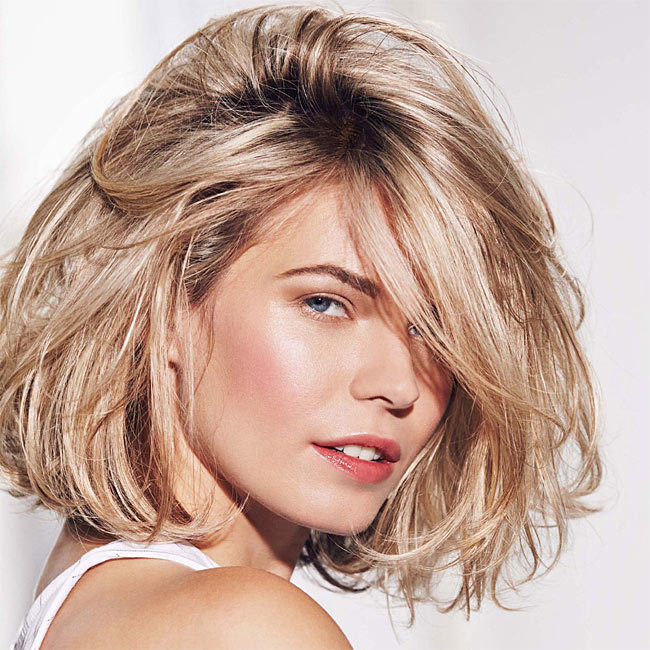 Coiffure cheveux mi-longs - FABIO SALSA - tendances printemps-été 2015
