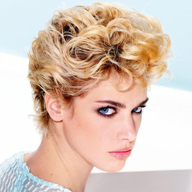 Coiffure cheveux courts - Michel DERVYN - tendances printemps-été 2015