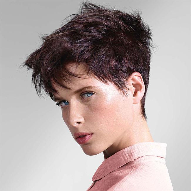 Coiffure cheveux courts - INTERMEDE - tendances printemps-été 2015
