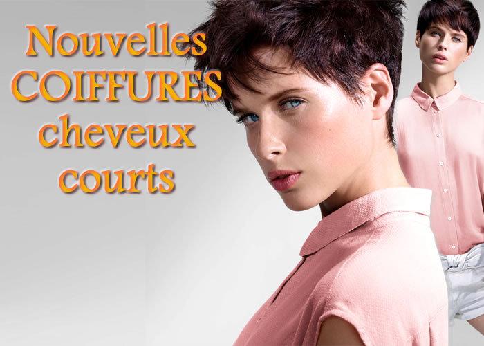 Eté 2015 : CHEVEUX COURTS - toutes les nouvelles créations coiffures - Coiffure INTERMEDE