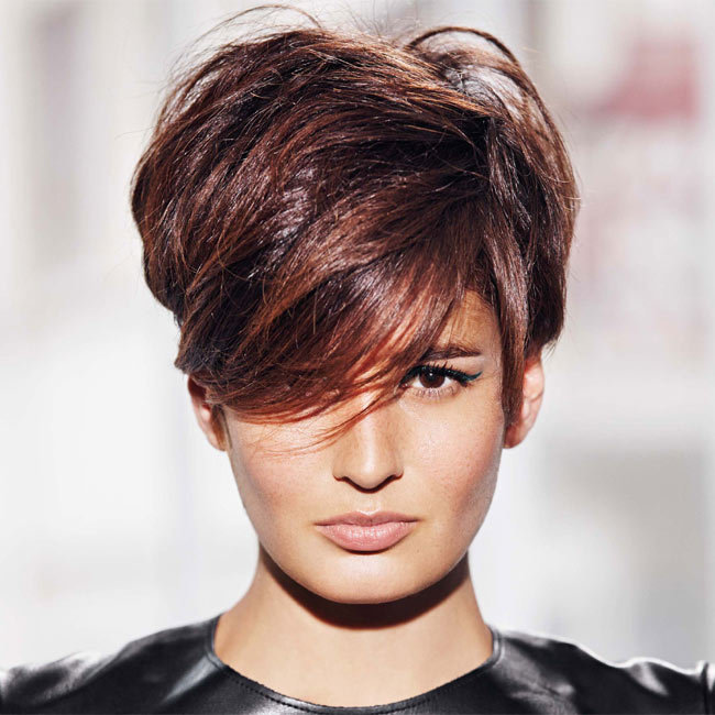 Coiffure cheveux courts - FABIO SALSA - tendances printemps-été 2015