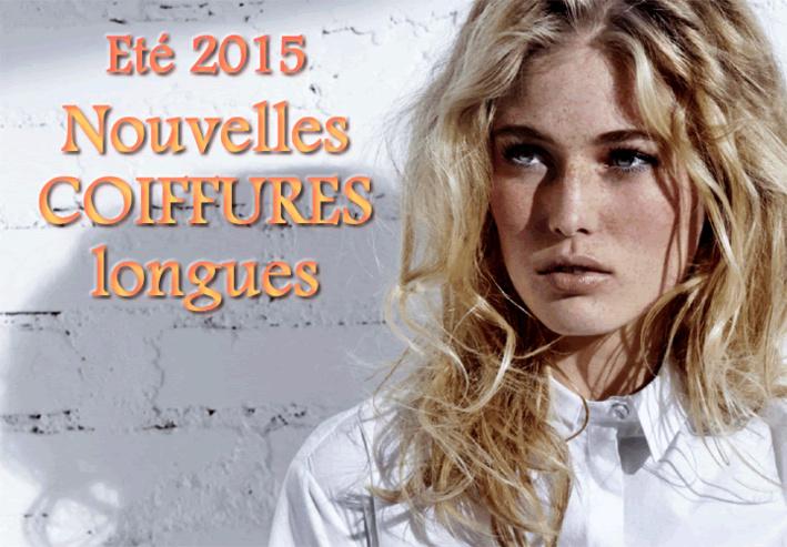 Eté 2015 : CHEVEUX LONGS - toutes les nouvelles créations coiffures - Coiffure HAIRCOIF