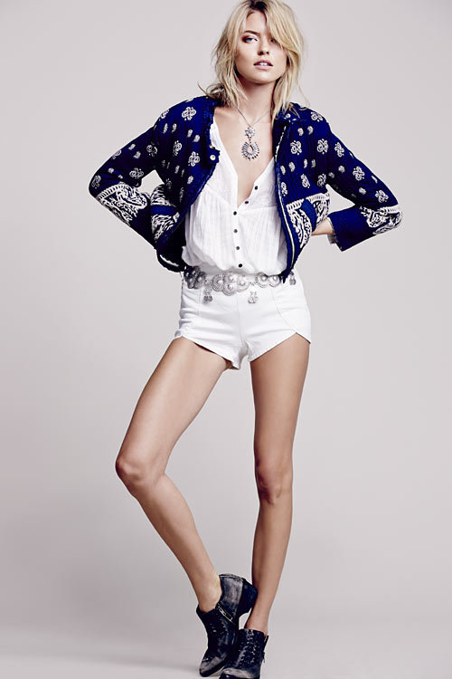 Shopping seventies revival : veste courte Free People