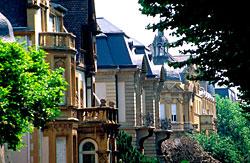 L'avenue Foch à Metz.