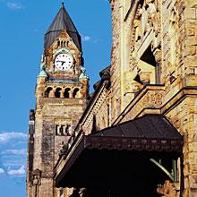La Tour de L'Horloge de la gare de Metz