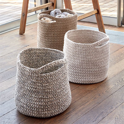 sp cial crochet mod les gratuits corbeilles sac et panier niche crocheter explications. Black Bedroom Furniture Sets. Home Design Ideas