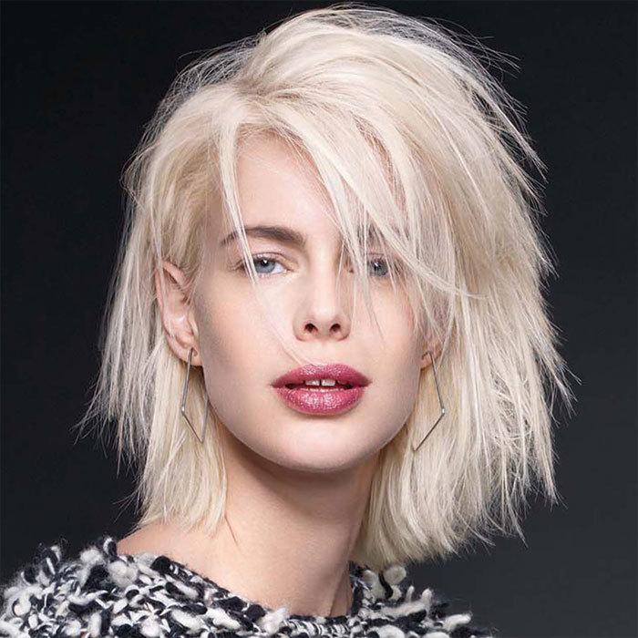 Coiffure cheveux mi-longs - INTERMÈDE - Tendances automne-hiver 2015-2016