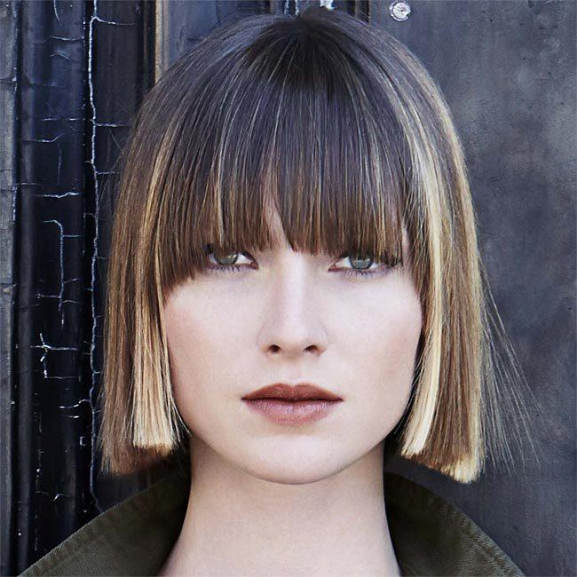 Coiffure cheveux mi-longs - INTERCOIFFURE - Tendances automne-hiver 2015-2016