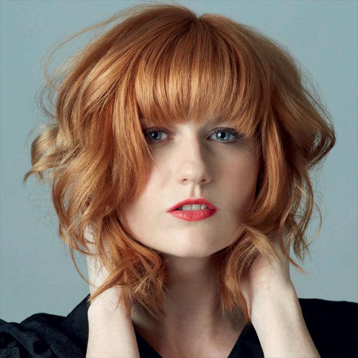 Coiffure cheveux mi-longs - LUCIE SAINT-CLAIR - Tendances automne-hiver 2015-2016