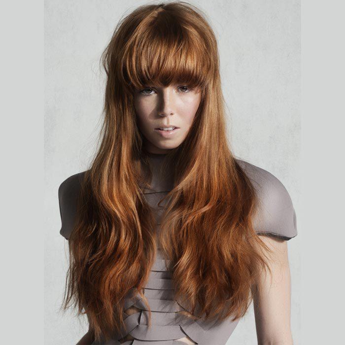Coiffure cheveux longs - INTERCOIFFURE - Tendances automne-hiver 2015-2016