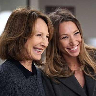 '10 pour cent', Nathalie Baye et sa fille Laura Smet - Photo Christophe Brachet/FTV