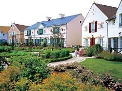 Val d'Europe, le hameau impressionniste du Marriott's Village