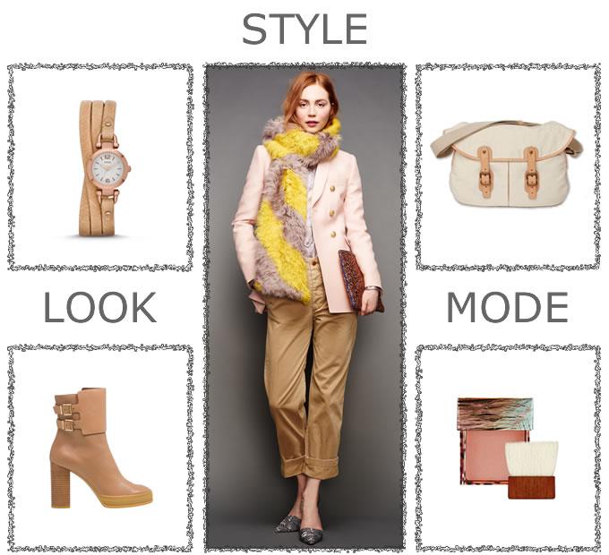 Idées mode d'automne : variations autour d'un look J. CREW