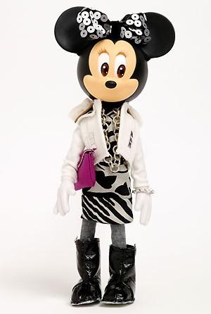 Minnie (©Disney)  par American Retro pour PRÊT À PORTER PARIS® 2008