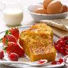 les pains perdus dorés à l'œuf