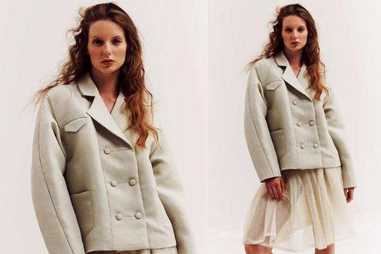 Dress code : mixer les styles et les saisons. Création XUAN.