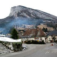 le village de Saint-Pierre de Chartreuse ( D.R.)