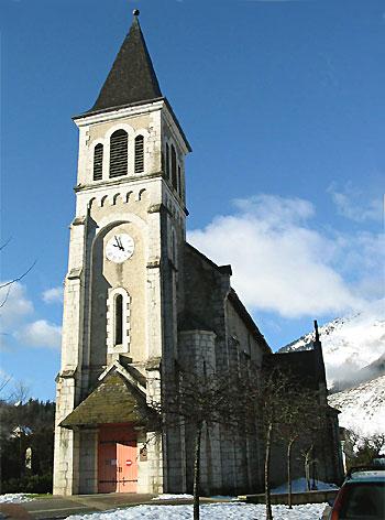 Ensemble départemental d'Art Sacré Contemporain dans l'église de Saint Hugues de Chartreuse.