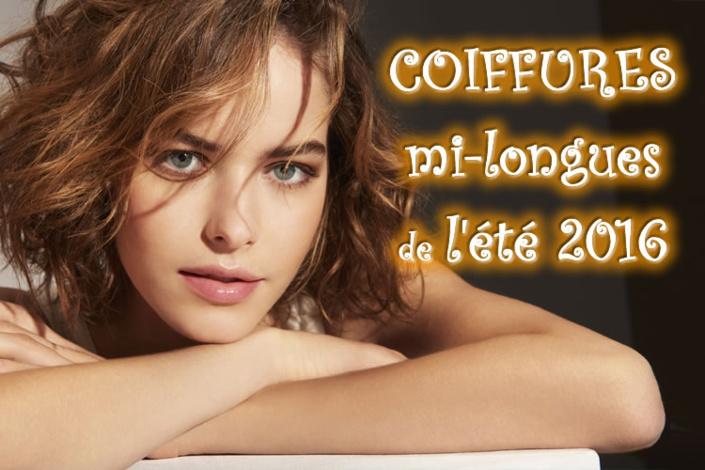 Ete 2016 : CHEVEUX MI-LONGS - toutes les nouvelles créations coiffures - Coiffure Franck PROVOST