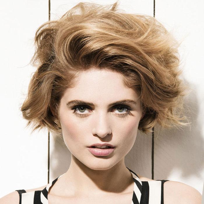 Coiffure cheveux mi-longs - FABIO SALSA - tendances Printemps-été 2016