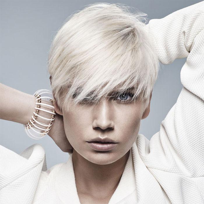 Coiffure cheveux courts - MANIATIS Paris - Tendances Printemps-été 2016