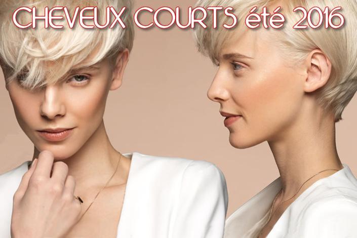 Ete 2016 : CHEVEUX COURTS - toutes les nouvelles créations coiffures - Coiffure Jean-Michel FARETRA