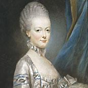 L'archiduchesse Marie-Antoinette en 1769 par Joseph Ducreux © Photo RMN / Gérard Blot