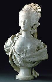 Buste de Marie-Antoinette (1781) par Louis-Simon Boizot © Photo Rmn